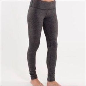 Lululemon Full Length Gray Leggings Size 8